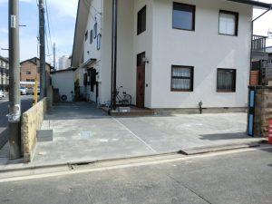 2.田中邸駐車場改修工事 施工後
