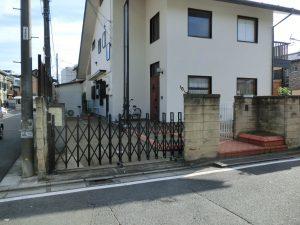 1.田中邸駐車場改修工事 施工前